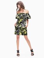 Splendid Tropic Floral Off Shoulder Dress