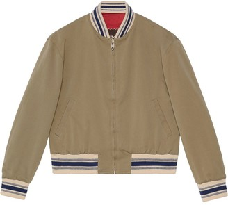Gucci Orgasmique reversible bomber jacket