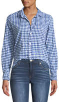 Frank And Eileen Barry Button-Front Gingham Cotton Shirt
