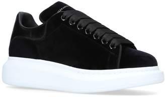 Alexander McQueen Velvet Runway Sneakers