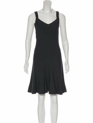Alaia Sleeveless Knit Dress