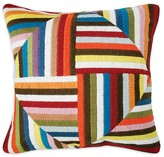 "Jonathan Adler Multi Windmill Bargello Decorative Pillow, 20"" x 20"""