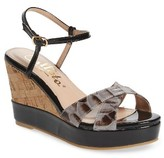 Callisto Women's Lottie Platform Wedge Sandal