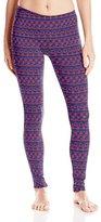 Danskin Women's Fold-Over Ankle Legging