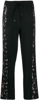No.21 Lace Inserts Track Pants