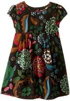 Burberry Mini Wendie Floral Short Sleeve Dress Girl's Dress