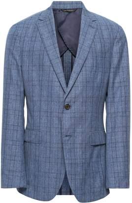 Banana Republic Slim Italian Wool-Cotton Blazer