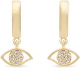 Rebecca Minkoff Evil Eye huggie hoop earrings