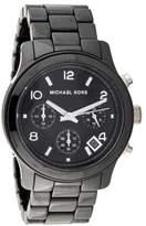 Michael Kors Ceramic Runway Watch