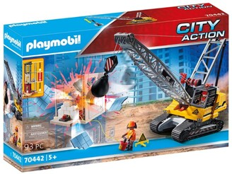 Playmobil Demolition Crane