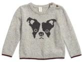 Tucker + Tate Infant Boy's Intarsia Knit Dog Sweater