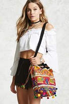 Forever 21 FOREVER 21+ Embellished Bucket Bag