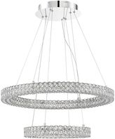 Quoizel Platinum Collection Infinity LED Pendant in Silver