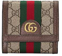Gucci Women's Ophidia GG Card Case Wallet