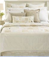 Martha Stewart Collection Trousseau Monogram Embroidered Patchwork King Coverlet