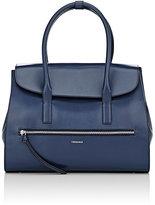 Trussardi WOMEN'S TOP-FLAP TOTE BAG-BLUE