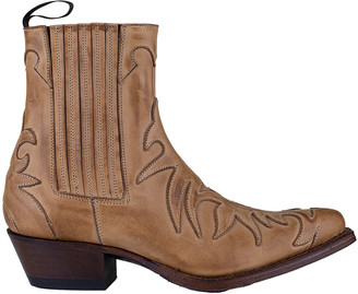 Tony Mora - Western Ankle Boot - tan brown | leather | 36 - Tan brown
