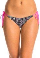 MinkPink Midnight Tribe Tie Side Bikini Bottom 8134895