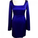 Proenza Schouler Purple Silk Dress for Women
