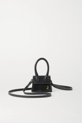 Jacquemus Le Chiquito Petit Leather Tote - Black