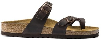 Birkenstock Mayari Habana Oiled Leather Sandals - 40 / narrow fit