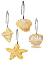 Carnation Home Fashions South Beach Resin Shower Curtain Hooks in
