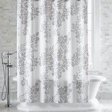 Crate & Barrel Marimekko Kukkula Grey Shower Curtain