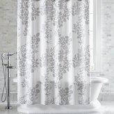 Crate & Barrel Marimekko Kukkula Grey Shower Curtain