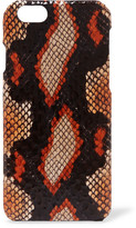 The Case Factory - Elaphe Iphone 6 Case - Orange
