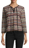 Antik Batik Sancha Cotton Embroidered Sweater