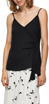 Selected Filly Wrap Top