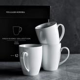 Provisions Mugs, Set of 12