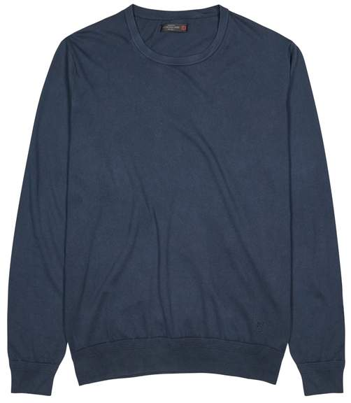 Corneliani Navy Cotton Jumper