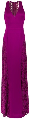 Tufi Duek lace panelled gown