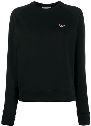 MAISON KITSUNÉ Embroidered Logo Sweatshirt