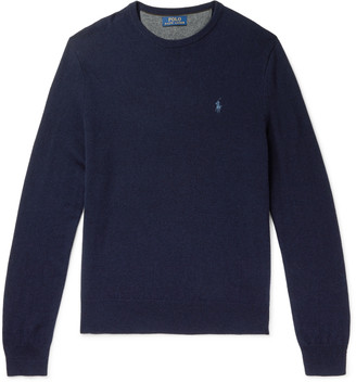 Polo Ralph Lauren Logo-Embroidered Wool Sweater