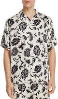 Junya Watanabe Floral Slim Fit Button-Down Shirt