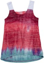Erge Northern Light Wide Tank (Kid) - Teal/Fuchsia-X-Large