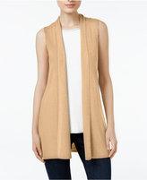 Eileen Fisher Tencel Open-Front Vest, Regular & Petite