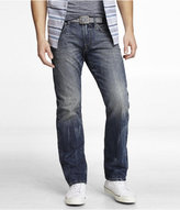 Express Rocco Slim Fit Straight Leg Jean