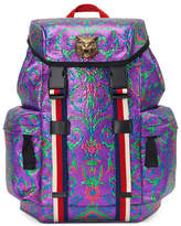 Gucci Techpack Brocade Backpack, Multi