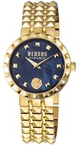 Versus By Versace Women's 'CORAL GABLES' Quartz Stainless Steel Casual Watch, Color:Gold-Toned (Model: SOD160016)