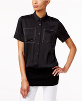 DKNY Layered-Look Shirt