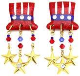 Mam MAM' Uncle Sam Clip-Earrings