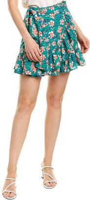 Tularosa Maida Ruffle Mini Skirt
