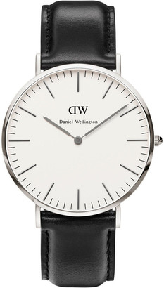 Daniel Wellington Classic Sheffield 40mm Silver Watch