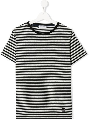 Paolo Pecora Kids TEEN short-sleeved striped T-shirt