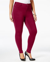 Celebrity Pink Trendy Plus Size Ponte-Knit Jeggings