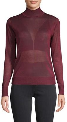 Rebecca Minkoff Textured Turtleneck Sweater