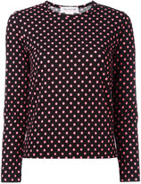 Comme des Garcons polka dot jumper - women - Cotton - XS